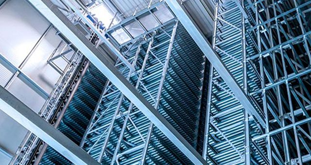 High Racks, Huge Warehouse Volumes, High Level of Automation