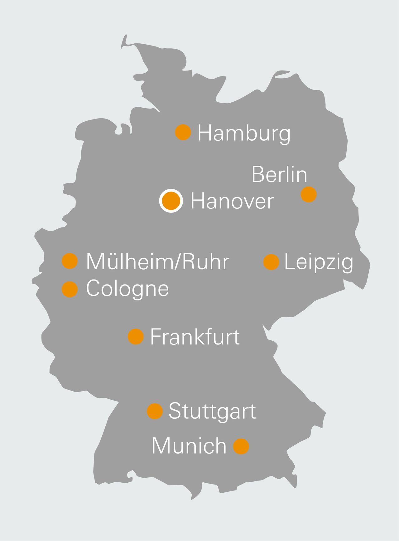 WAGNER locations in Germany